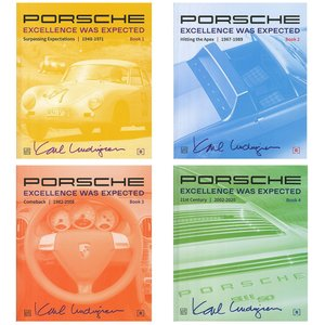 Porsche - Excellence was Expected ポルシェ - 予期された卓越性 全4巻|d-tsutayabooks
