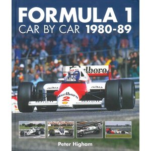 Formula 1 Car By Car 1980-89 フォーミュラ1 車両資料集 1980-89|d-tsutayabooks