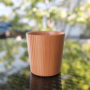 杉のカップ 【奈良の木のあるくらしフェア】|d-tsutayabooks
