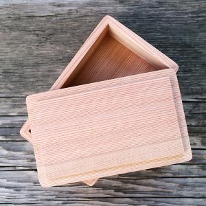 杉のバターケース 【奈良の木のあるくらしフェア】|d-tsutayabooks