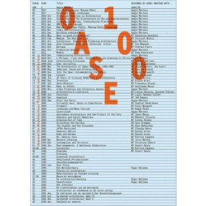 Oase 100: The Architecture of the Journal|d-tsutayabooks