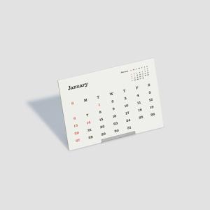 2019 D-BROS CALENDAR(2019's DESIGN:Shoichi Maehara/Ren Yamakawa) 2019 タイプフェイス 卓上 カレンダー|d-tsutayabooks