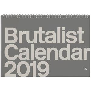 Brutalist Calendar 2019 Limited Edition Monthly Calendar Celebrating Brutalist Architecture (英語)  カレンダー|d-tsutayabooks