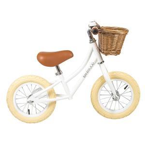 【受注販売】BANWOOD バランスバイク ホワイト|d-tsutayabooks