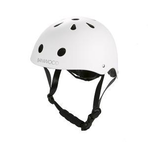 【受注販売】BANWOOD ヘルメット ユニセックス (48〜52cm) マットホワイト|d-tsutayabooks