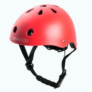 【受注販売】BANWOOD ヘルメット ユニセックス (48〜52cm) マットレッド|d-tsutayabooks