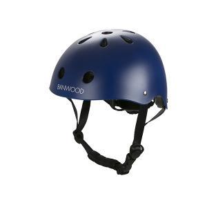 【受注販売】BANWOOD ヘルメット ユニセックス (48〜52cm) マットネイビーブルー|d-tsutayabooks