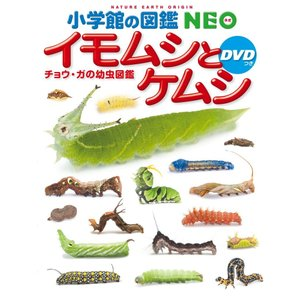 小学館の図鑑NEO イモムシとケムシ DVD付き|d-tsutayabooks
