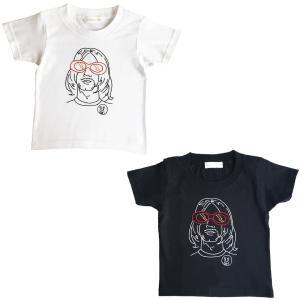 NEVER MIND 半袖 Tシャツ キッズサイズ ホワイト・ブラック|d-tsutayabooks