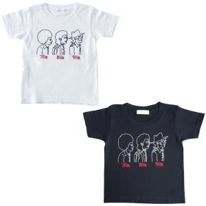 70s80s90s 半袖 Tシャツ キッズサイズ ホワイト・ブラック|d-tsutayabooks
