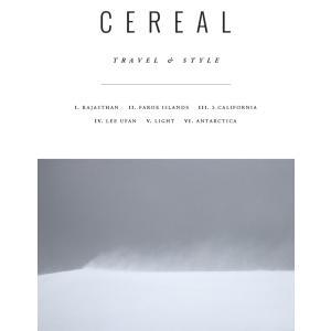 CEREAL(シリアル) issue12 イギリス発のトラベル&ライフスタイル誌