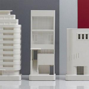 Chisel & Mouse 建築模型 Lescaze House(レスケーズ・ハウス)|d-tsutayabooks