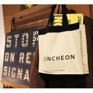 LUNCHEON TOTE BAG トートバッグ|d-tsutayabooks