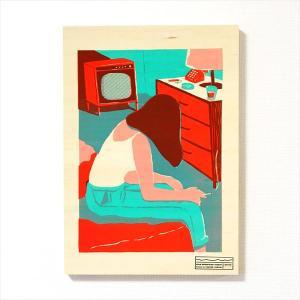 [受注生産]イラストレーター・高城琢郎 シルクスクリーン作品「ROOM 202」【限定5点】|d-tsutayabooks
