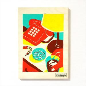 [受注生産]イラストレーター・高城琢郎 シルクスクリーン作品「ON THE DRAWER」【限定5点】|d-tsutayabooks