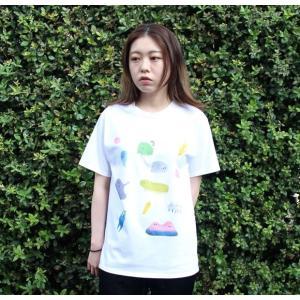 [代官山 蔦屋書店限定]イラストレーター・三好 愛 Tシャツ「いろいろあるねT」|d-tsutayabooks
