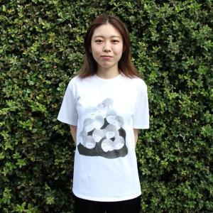[代官山 蔦屋書店限定]イラストレーター・三好 愛 Tシャツ「まぎれたい人たちT」|d-tsutayabooks