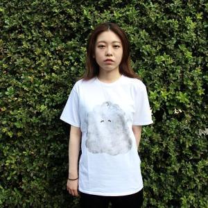 [代官山 蔦屋書店限定]イラストレーター・三好 愛 Tシャツ「あからさまな幸せくんT」|d-tsutayabooks