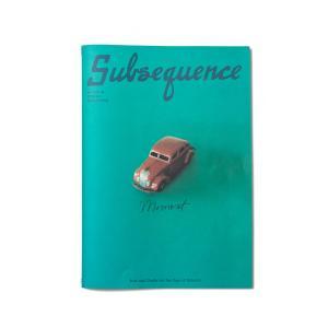 Subsequence #3|d-tsutayabooks