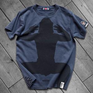 [先行販売] CRAZY MONKEY −笑拳− ジャッキー・チェン 半袖 Tシャツ ナイトネイビー|d-tsutayabooks