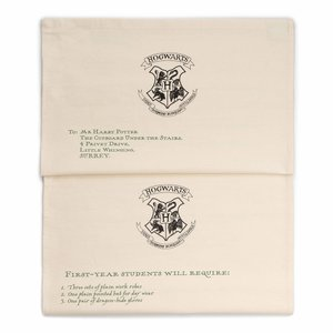 ホグワーツ入学許可証 ティータオルセット ハリー・ポッター|d-tsutayabooks