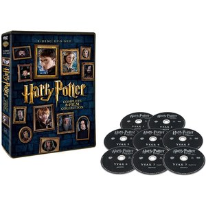 [40%OFF] ハリー・ポッター 8Film DVDセット