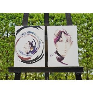 【予約商品 数量限定】氷室京介 キャンパスアート「Memories Of Blue」「FLOWERS for ALGERNON」|d-tsutayabooks