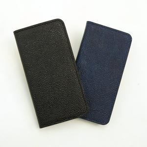 【iPhone7/8 Plus ケース】黒桟革(クロザンガワ) d-tsutayabooks