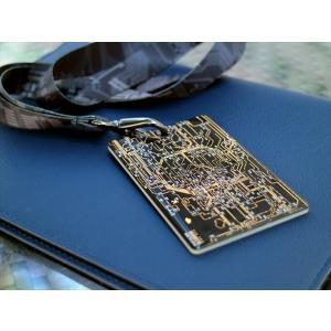 [期間限定名入れ無料]moeco FLASH東京回路線図 IC-CARD case カードケース パ...