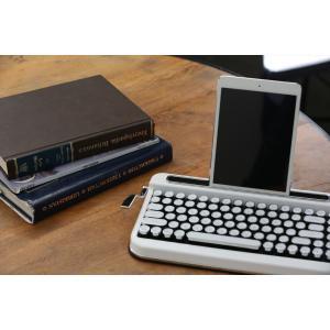 [ポイント5倍] タイプライター風キーボード PENNA (White) d-tsutayabooks