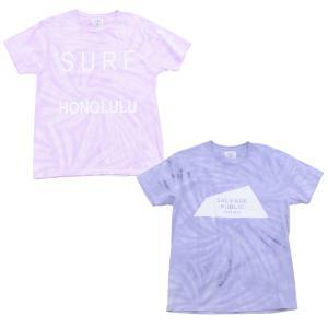 [SALVAGE PUBLIC] Tye Dye TEE 半袖 Tシャツ ユニセックス d-tsutayabooks