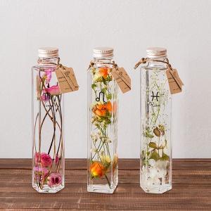 Healing Bottle (ヒーリングボトル) 12星座 【フレッシュドライ加工した植物をBottleに閉じ込めた植物標本】|d-tsutayabooks