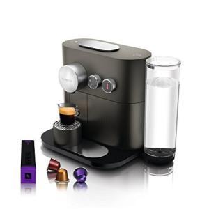 ネスプレッソ ネスプレッソコーヒーメーカー グレーNespresso エキスパート D80GR