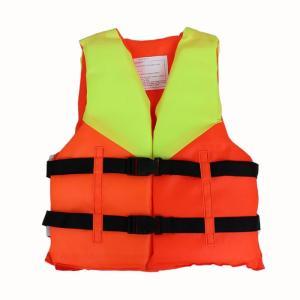 【レビュー投稿でQUOカードGET】子供用ライフジャケット ライフベスト ベストタイプ 救命胴衣 フリーサイズ 送料無料 アウトドア用品 [EXC]|dabada