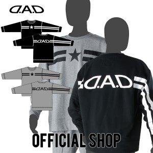 DAD ギャルソン D.A.D LUXURY STREET ビッグフルジップストレッチスウェット(ビッグシルエット)【DK008】2カラー GARSON おしゃれ かっこいい dad