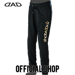 DAD ギャルソン D.A.D LUXURY STREET パンツ(裏毛/箔プリント)【DK038】GARSON おしゃれ かっこいい dad