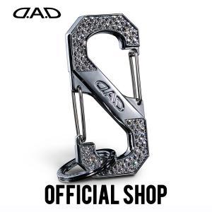 DAD ギャルソン D.A.D クリスタル S字カラビナ フック【SB185】|dad