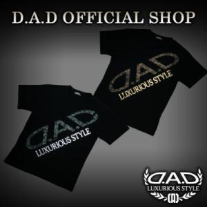 D.A.D (GARSON/ギャルソン) Tシャツ ゴールド,シルバー M,L,XL  DAA008 DAD|dad