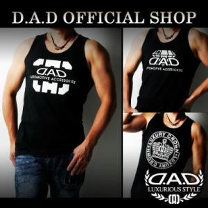 D.A.D (GARSON/ギャルソン) タンクトップ M,L,XL  G067-G069 DAD dad