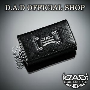 D.A.D (GARSON/ギャルソン) キーケース モノグラムレザー ブラック 4560318664722 DAD|dad