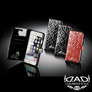D.A.D (GARSON/ギャルソン) スマートフォンカバー iPhone6 モノグラムレザーエナメル DAD 4560318719880/4560318719897/4560318719903|dad