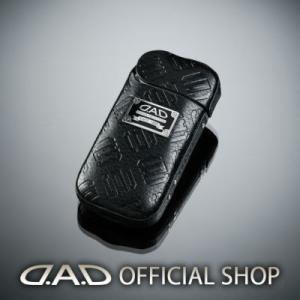 D.A.D (GARSON/ギャルソン) iQOS(アイコス)カバー  タイプモノグラムレザー ブラック HA426-01DAD|dad