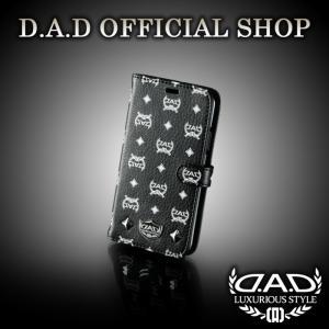 D.A.D (GARSON/ギャルソン) ラグジュアリー スマートフォンカバー iPhoneX タイプ ディルス ブラック/ホワイト DAD 4560318752436|dad