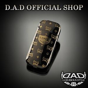 D.A.D (GARSON/ギャルソン) DAD プレミアムアイコスカバー ディルス ブラック/ゴールド DAD|dad