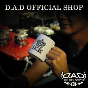 D.A.D (GARSON/ギャルソン) D.A.D MUG 【D.A.D/CROWN/LAUREL】 DAD|dad