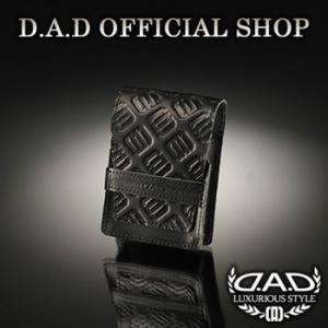 D.A.D(GARSON/ギャルソン) D.A.D シガレット ケース タイプ モノグラムレザー(タバコケース) DAD|dad