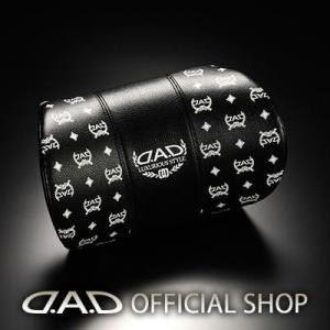 D.A.D ネック/ヘッドパッド タイプディルス【ベース:ブラック/ロゴ:ホワイト】HA497-01 1個 4560318762961 GARSON ギャルソン DAD|dad