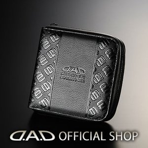 D.A.D CD&マルチケース タイプ モノグラムレザーブラック 【HA518】GARSON ギャルソン DAD 4560318764101|dad