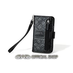 D.A.D スマートフォンカバーモノグラムレザーブラック【HA557-01】iPhoneXs Max GARSON ギャルソン DAD 4560318764200|dad