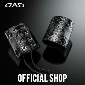 DAD ギャルソン D.A.D シートベルトバックルカバー モノグラムレザー【HA559】|dad